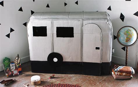 Diy-Cardboard-Camper-Playhouse