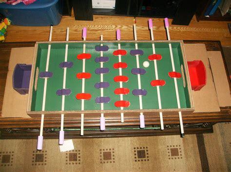 Diy-Cardboard-Foosball-Table