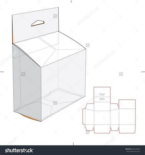 Diy-Cardboard-Slanted-Box-With-Hanging-Tag
