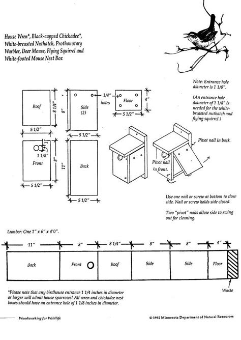 Diy-Carolina-Chickadee-Bird-House-Plans