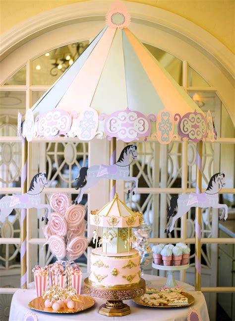 Diy-Carousel-Dessert-Table