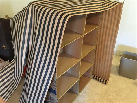Diy-Carton-Shelves