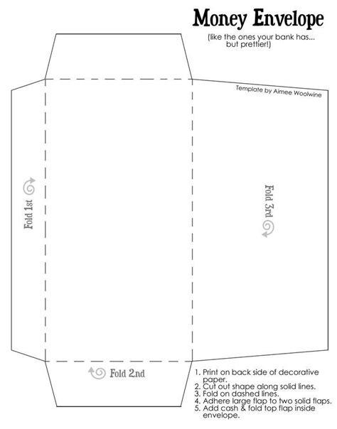 Diy-Cash-Envelope-Template