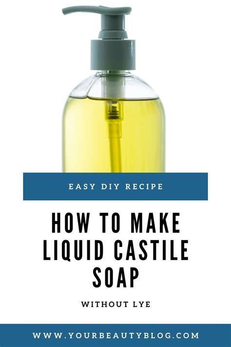 Diy-Castile-Soap-Without-Lye
