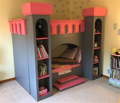 Diy-Castle-Bed-Plans