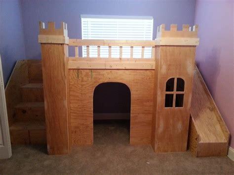 Diy-Castle-Loft-Bed-Plans