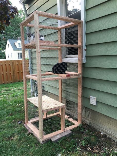 Diy-Cat-Cage-Wood
