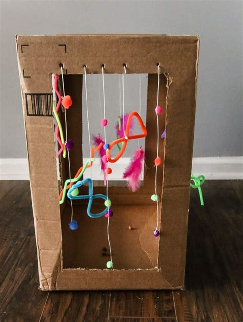 Diy-Cat-Toys-Cardboard-Box