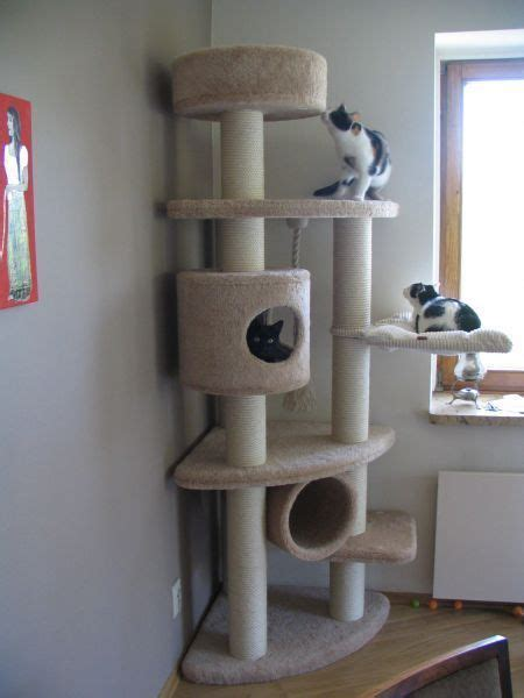 Diy-Cat-Tree-Condo-Wood-2x4