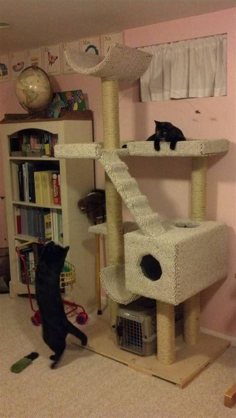Diy-Cat-Tree-Condos