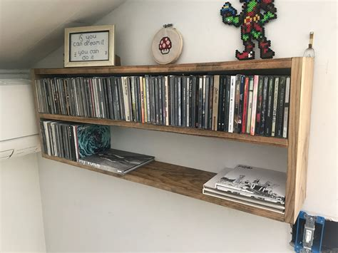 Diy-Cd-Wall-Shelf
