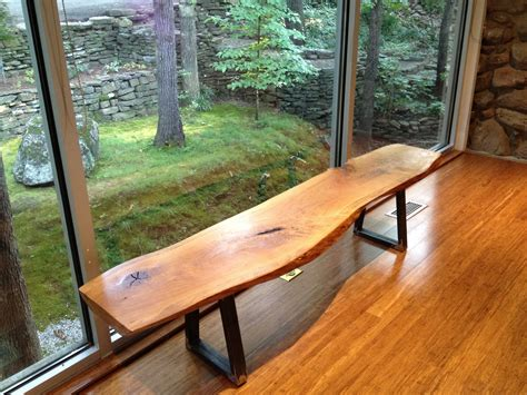 Diy-Cedar-Bench-With-Metal-Legs