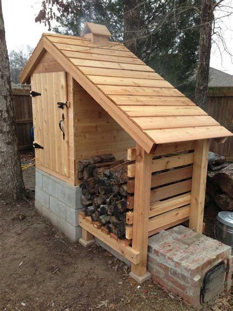 Diy-Cedar-Smokehouse