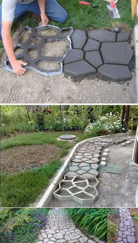 Diy-Cement-Pathways