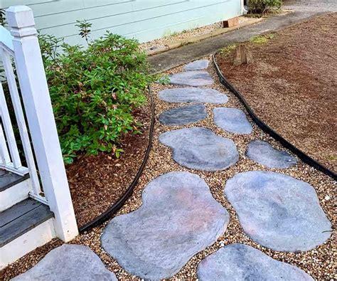 Diy-Cement-Patio-With-Stones