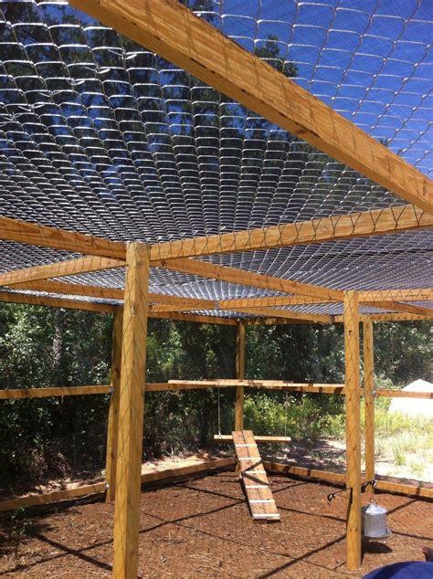 Diy-Chain-Link-Chicken-Coop