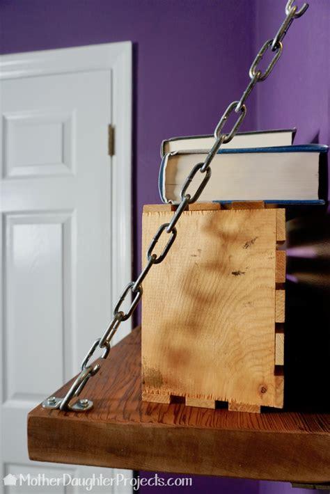 Diy-Chain-Shelf