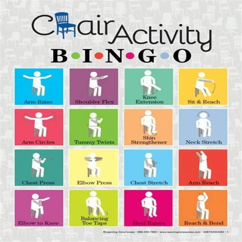 Diy-Chair-Activity-Bingo