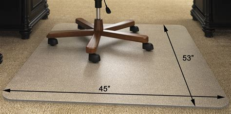 Diy-Chair-Mat-For-High-Pile-Carpet