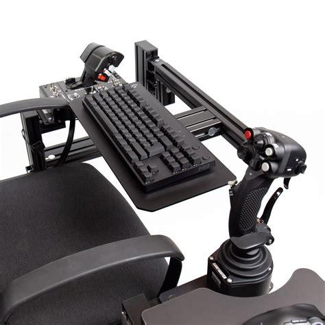 Diy-Chair-Mounted-Keyboard-Tray