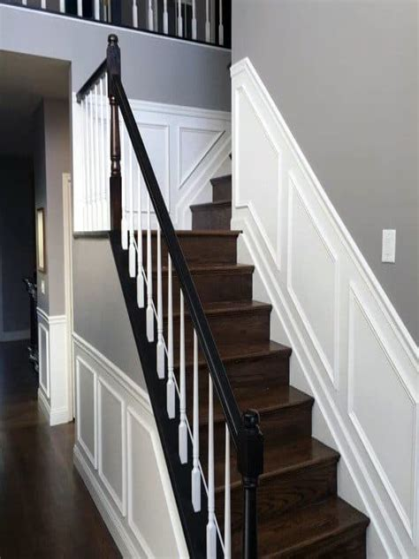 Diy-Chair-Rail-Staircase