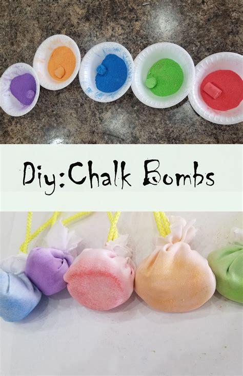 Diy-Chalk-Bombs