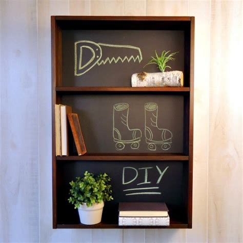 Diy-Chalkboard-Shelf