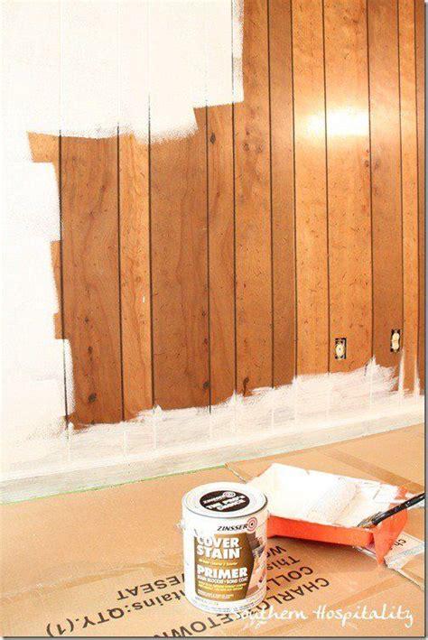 Diy-Changing-Wood-Paneling-To-Drywall