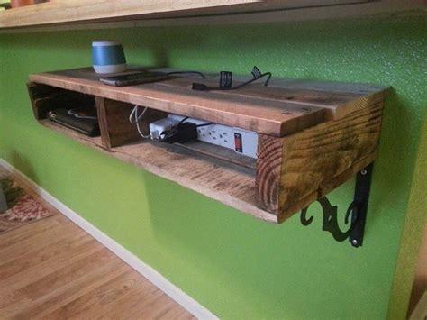 Diy-Charging-Shelf