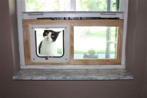 Diy-Cheap-Cat-Door-For-Window-Sash