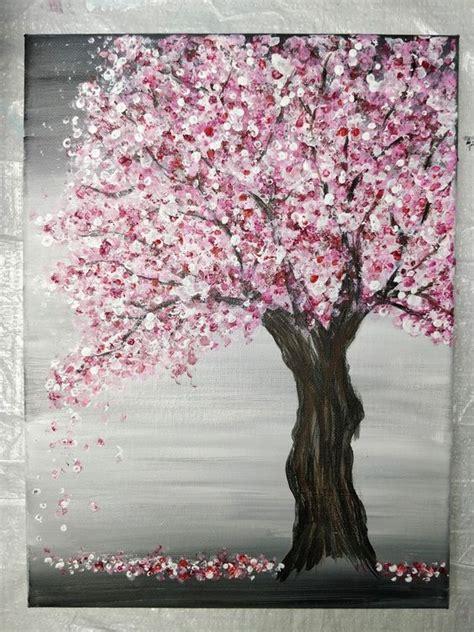 Diy-Cherry-Blossom-Painting