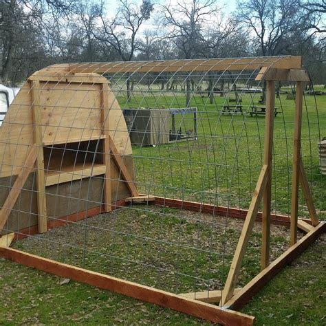 Diy-Chicken-Coop-With-Cow-Panels
