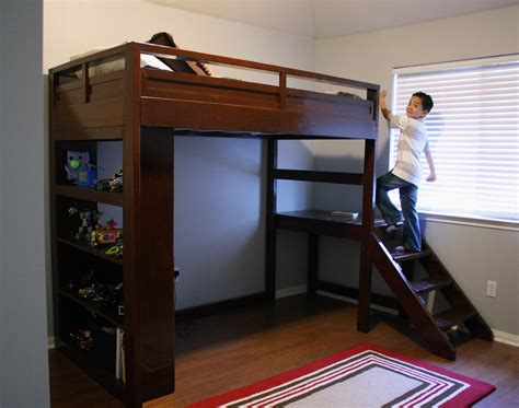 Diy-Childrens-Loft-Bed