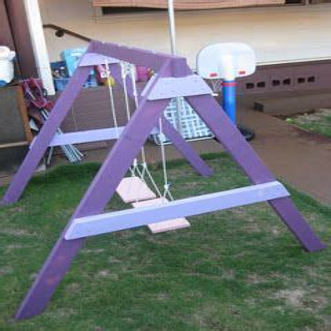 Diy-Childrens-Swing-Set