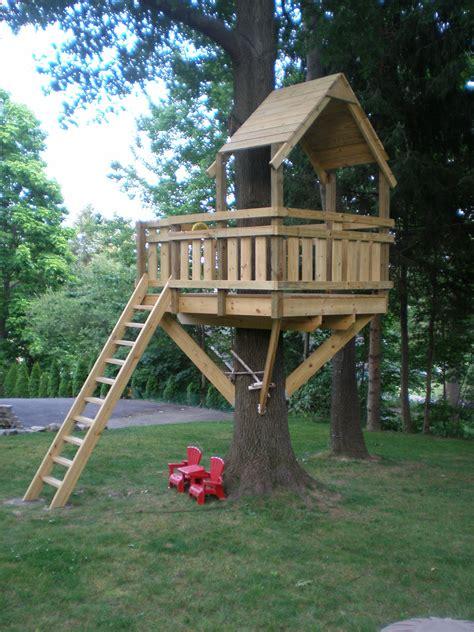 Diy-Childrens-Treehouse