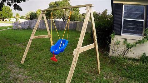 Diy-Childs-Swing-Set