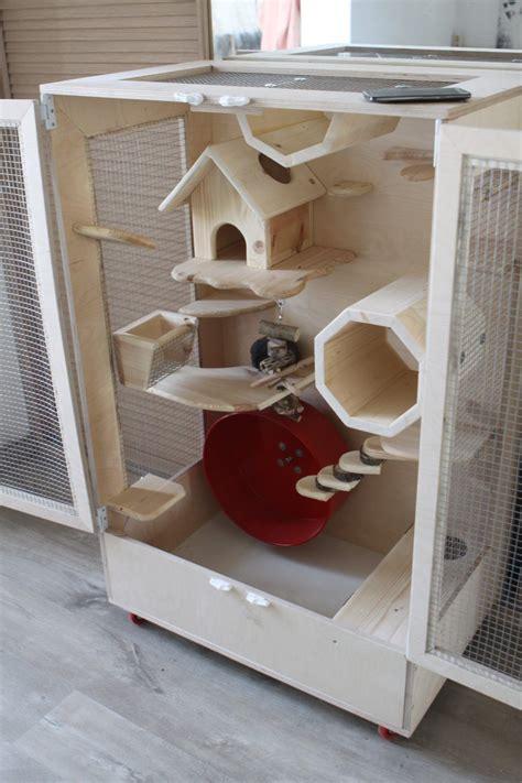 Diy-Chinchilla-Cage-Shelves