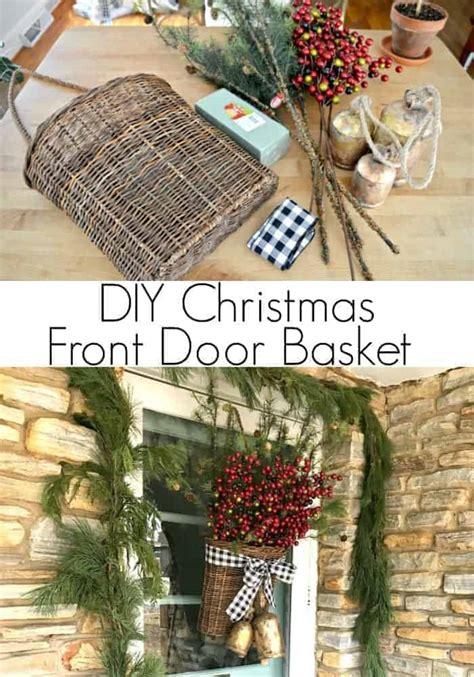 Diy-Christmas-Door-Basket