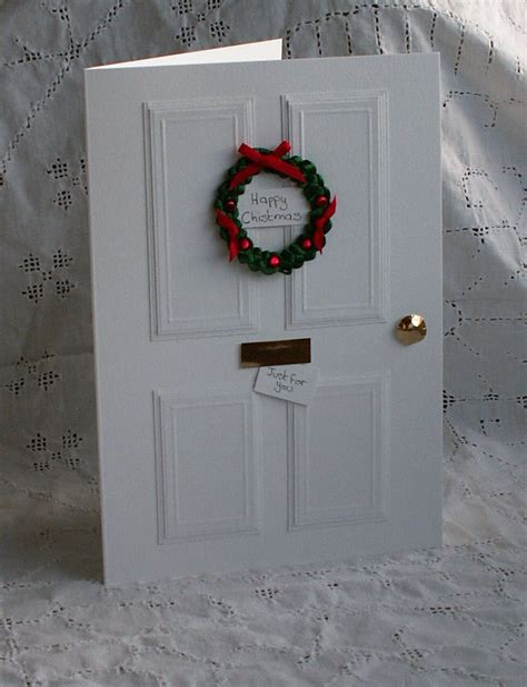 Diy-Christmas-Door-Card