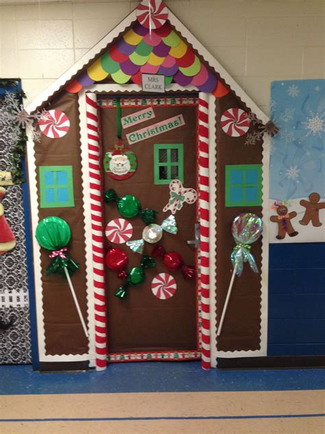 Diy-Christmas-Door-Decorations-For-Office