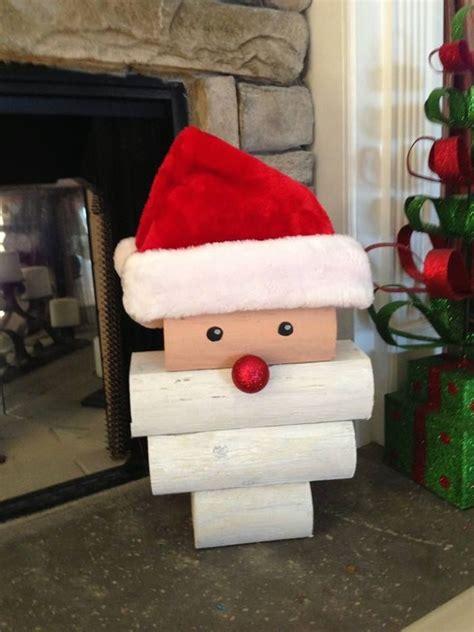 Diy-Christmas-Santa-Crafts-With-Wood