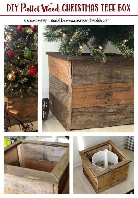 Diy-Christmas-Tree-Box