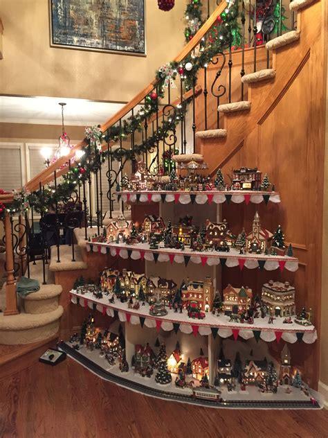 Diy-Christmas-Village-Shelf