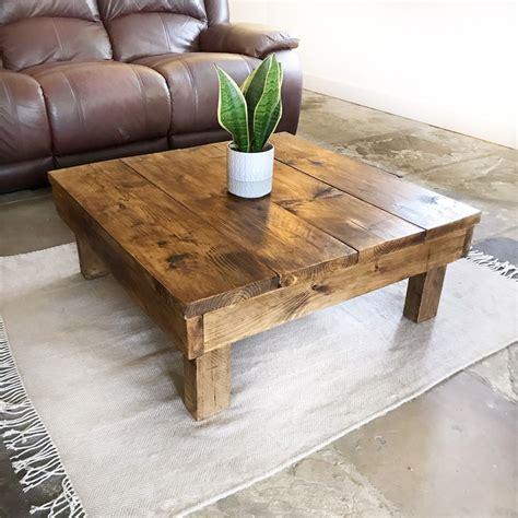 Diy-Chunky-Wood-Coffee-Table