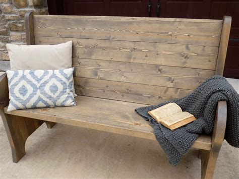 Diy-Church-Pew-Bench-Plans