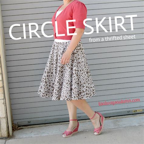 Diy-Circle-Skirt-Elastic-Waist