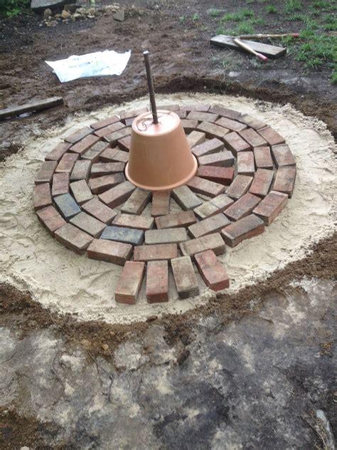 Diy-Circular-Brick-Patio