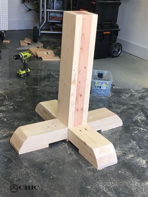 Diy-Circular-Table-Support