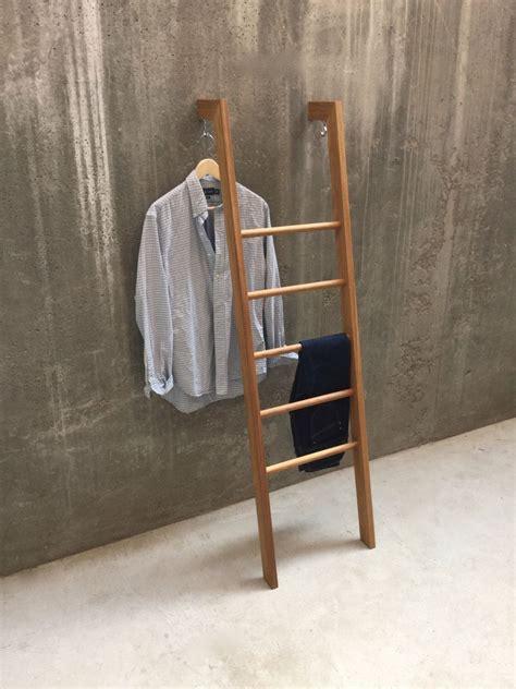 Diy-Clothes-Ladder-Valet-Rack