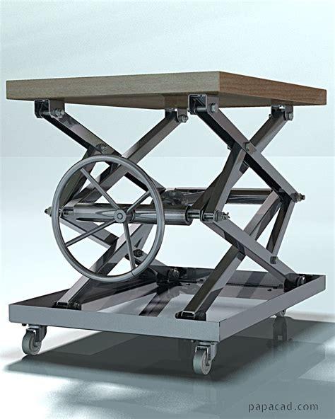 Diy-Coffee-Table-Lcd-Lift-Designs